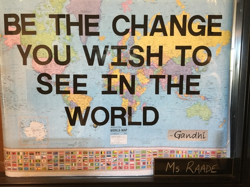 Be the Change Classroom